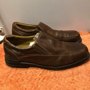 Bass Men's Leather Loafers Brown Size 11